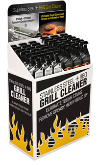 BBQ Cleaner Display