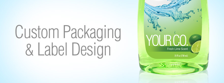 Custom Packaging and Label Design